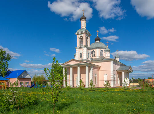 Church of the Exaltation of the Cross in Sosnovka