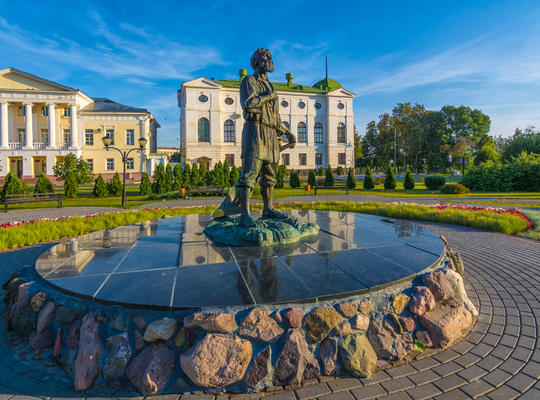 The Monument to the Tambov Man